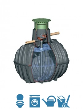 Kit filtro autopulente KIT-G-3